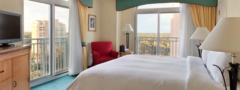 Myrtle Beach Marriott bedroom