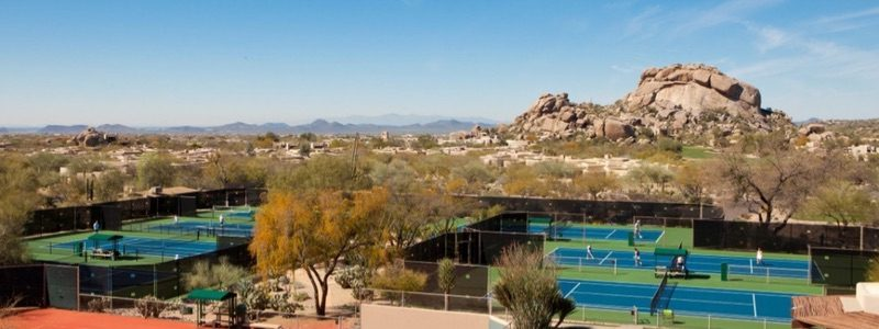 Boulders Resort tennis