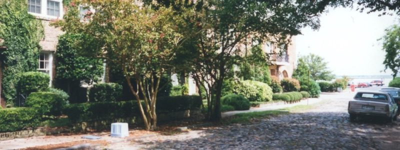 Charleston Cobbled Street