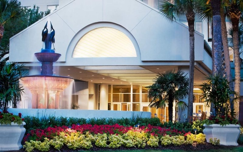 Westin Lobby Entrance